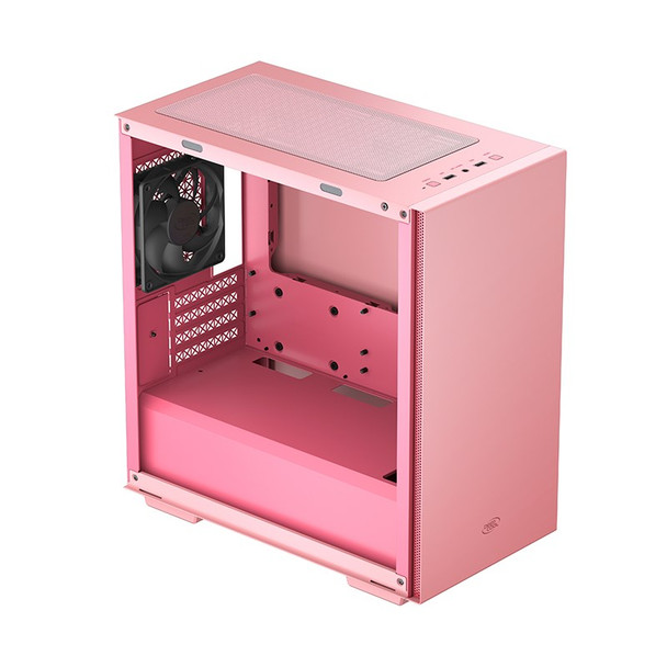 Deepcool MACUBE 110 Tempered Glass Mini Tower Micro-ATX Case - Pink Product Image 7