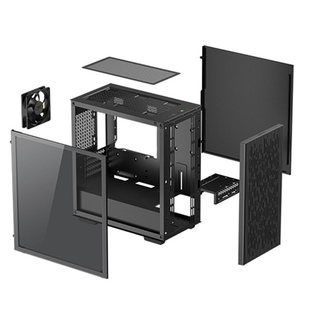 Deepcool MATREXX 40 Tempered Glass Micro-ATX Case - Black Product Image 5