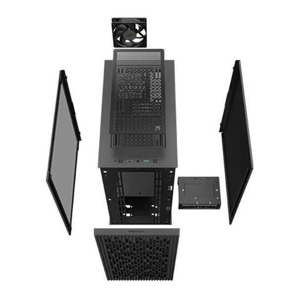 Deepcool MATREXX 40 Tempered Glass Micro-ATX Case - Black Product Image 6