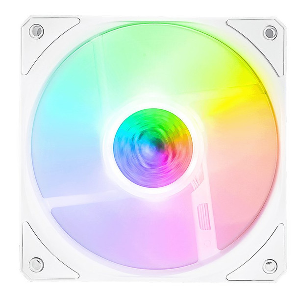 Cooler Master SickleFlow ARGB 120mm Fan - White 3 Pack Product Image 2
