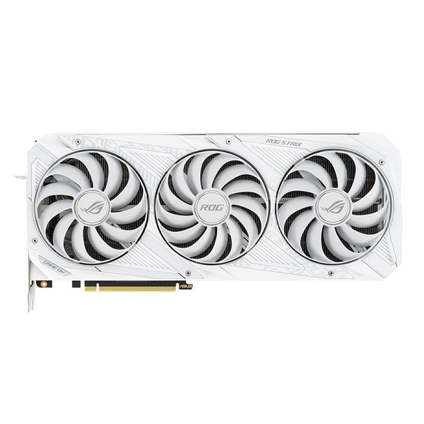Asus GeForce RTX 3070 ROG Strix OC 8GB Video Card - White Product Image 2