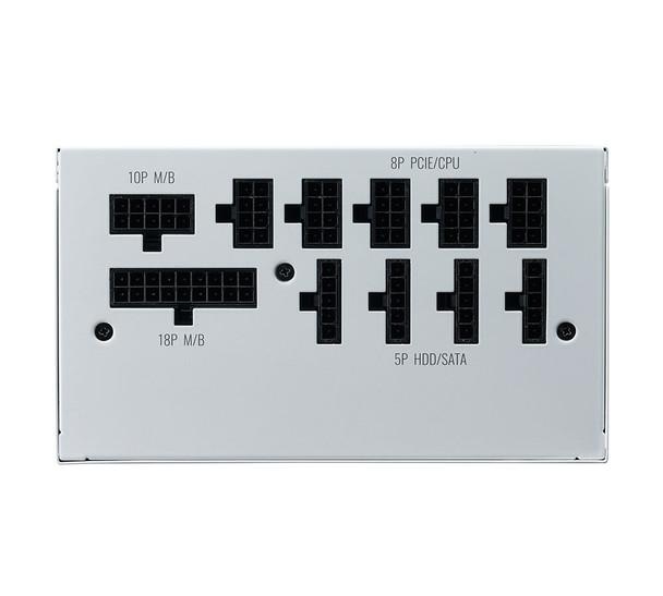 Cooler Master V 850W GOLD Modular V2 Power Supply - White Edition Product Image 4