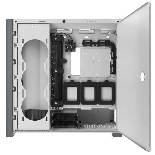 Corsair 5000D AIRFLOW Tempered Glass Mid-Tower ATX PC Case — White Product Image 6