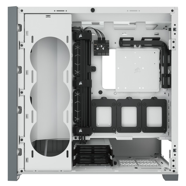 Corsair 5000D Tempered Glass Mid-Tower ATX PC Case — White Product Image 4