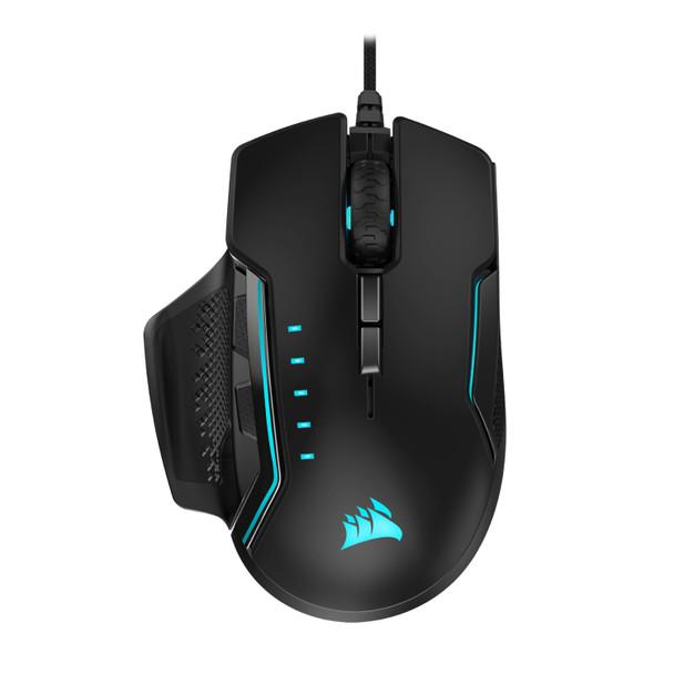 Corsair GLAIVE RGB PRO Gaming Mouse — Aluminium Main Product Image