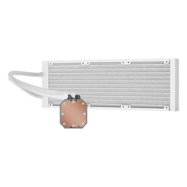 Corsair iCUE H150i ELITE CAPELLIX Liquid CPU Cooler — White Product Image 4