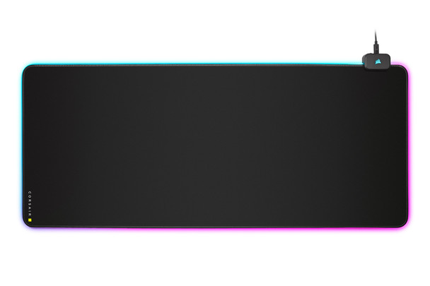 Corsair MM700 RGB Extended Mouse Pad – Black Main Product Image