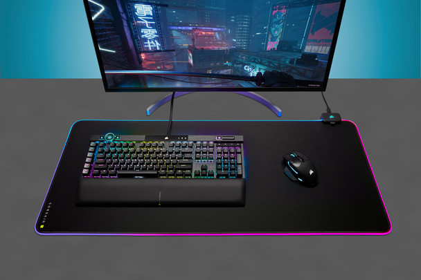 Corsair MM700 RGB Extended Mouse Pad – Black Product Image 5