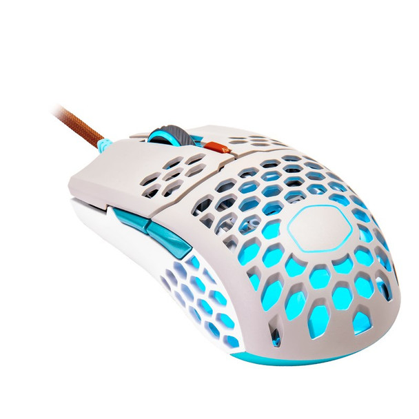Cooler Master MM711 RGB Lightweight Optical Gaming Mouse - Retro Main Product Image