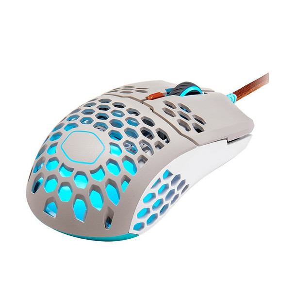 Cooler Master MM711 RGB Lightweight Optical Gaming Mouse - Retro Product Image 3