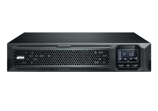 Aten 1500VA/1500W Professional Online UPS with USB/DB9 connection - 8 IEC C13 outlets - optional SNMP support - EPO and RJ port surge protection Product Image 2