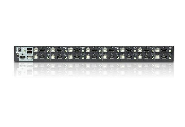Aten 16 Port USB 2.0 HDMI KVMP Switch - Video DynaSync - multi-display support Product Image 3