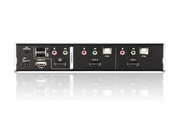 Aten 2 Port USB 2.0 HDMI KVMP Switch - supports up to 1920 x 1200 @ 60 Hz Product Image 3