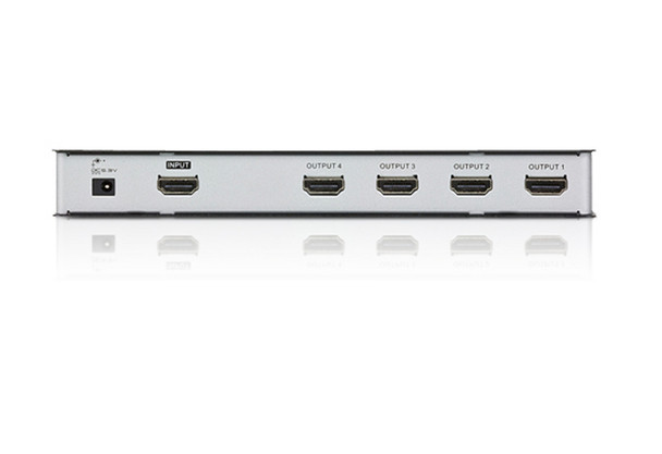 Aten 4 Port 4K HDMI Splitter - supports up to 4096 x 2160 / 3840 x 2160 @ 60Hz (4:2:0) and 4096 x 2160 / 3840 x 2160 @ 30Hz (4:4:4) Product Image 2