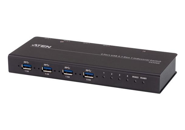 Aten 4 Port USB 3.1 Gen 1 Industrial Grade Hub Switch Main Product Image