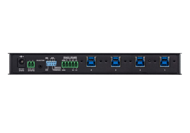 Aten 4 Port USB 3.1 Gen 1 Industrial Grade Hub Switch Product Image 3