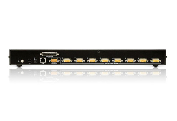 Aten 8 Port PS/2-USB 2.0 KVMP Switch over IP - 1 VGA USB KVM Cable - 1 VGA PS/2 KVM Cable included Product Image 3