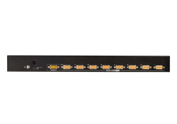 Aten 8 Port PS/2-USB VGA KVMP Switch - supports Video DynaSync - Mouse and Keyboard emulation - Cables not included Product Image 3
