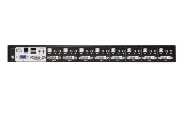 Aten 8 Port USB DVI Dual Link KVM Switch - Video DynaSync - 2.1 Audio - multi-display support by stacking up to four CS1788 units Product Image 3