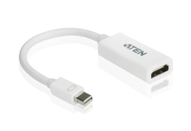 Aten Mini DisplayPort(M) to HDMI(F) Adapter -Premium series with EMI Shielding Main Product Image