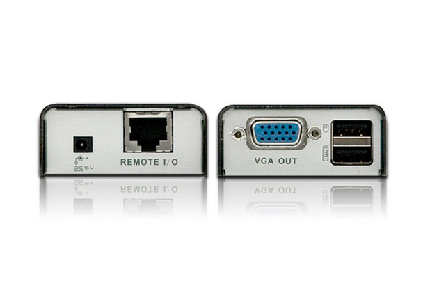 Aten Mini USB VGA Cat 5 KVM Extender - extends up to 1280 x 1024 @ 100m and 1920 x 1200 @ 60 Hz @ 30m Product Image 2