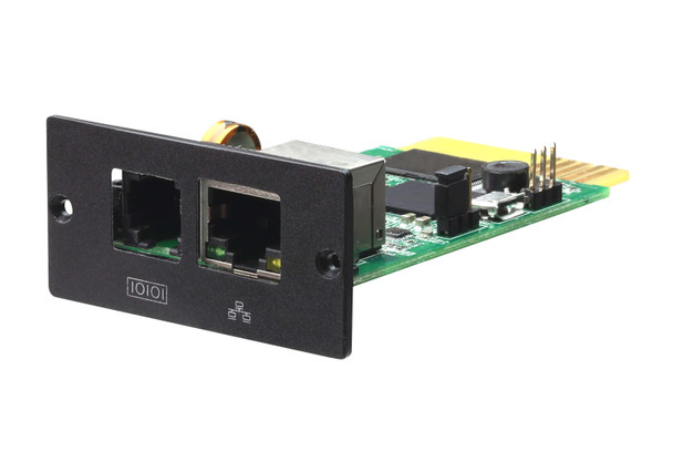 Aten UPS SNMP Card Module - built-in web server - real-time dynamic graphs of UPS data Main Product Image