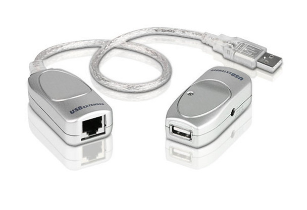 Aten USB 2.0 Cat 5 Extender - extends up to 60m - supports USB speeds up to 12Mbps Main Product Image