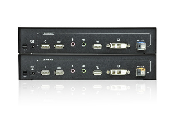 Aten USB DVI Optical KVM Extender - extends 1920 x 1200 @ 600m Product Image 2