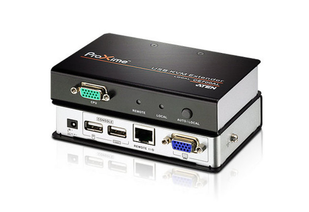 Aten USB VGA Cat 5 KVM Extender - extends up to 1280 x 1024 @ 150m and 1920 x 1200 @ 60Hz @30m  Main Product Image