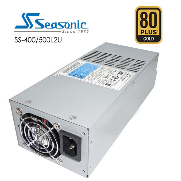 Seasonic 400W Active PFC F0 2U PSU (SS-400L2U) Main Product Image