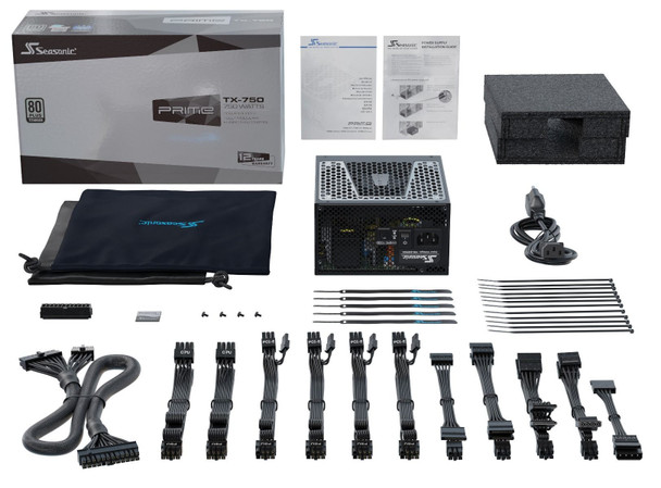 Seasonic 750W Prime TX-750 Titanium PSU (SSR-750TR) (OneSeasonic) Product Image 5