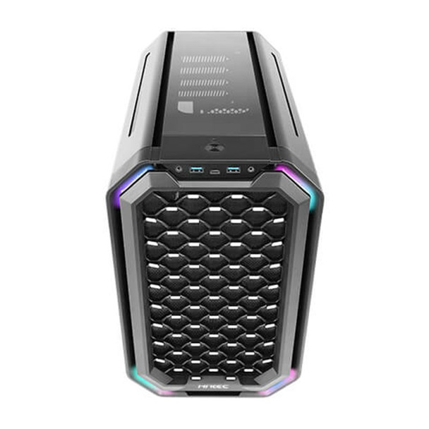 Antec Dark Cube Mid-Cube RGB Tempered Glass Micro-ATX Case Product Image 5