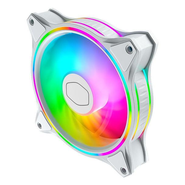 Cooler Master MasterFan MF120 Halo ARGB 120mm White Case Fan - 3 Pack Product Image 3