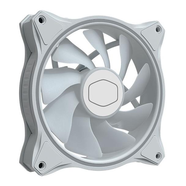 Cooler Master MasterFan MF120 Halo ARGB 120mm White Case Fan - 3 Pack Product Image 5