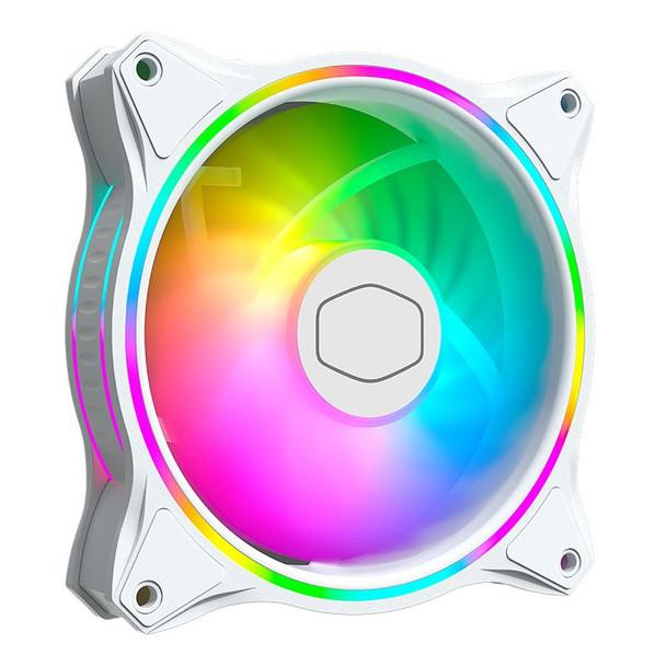 Cooler Master MasterFan MF120 Halo ARGB 120mm White Case Fan - 3 Pack Product Image 6