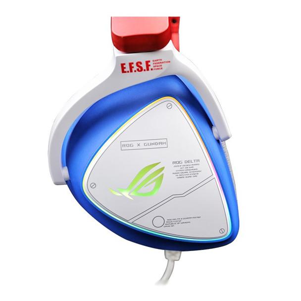 Asus ROG Delta GUNDAM Edition RGB Virtual 7.1 USB Gaming Headset Product Image 4
