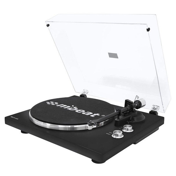 Mbeat Hi-Fi Bluetooth Turntable Player - Matte Black Main Product Image
