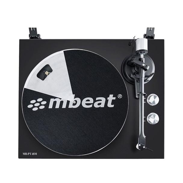 Mbeat Hi-Fi Bluetooth Turntable Player - Matte Black Product Image 2