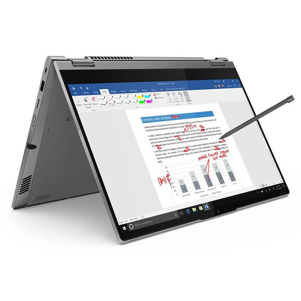 Lenovo ThinkBook 14s Yoga ITL 14in 2-in-1 Laptop i5-1135G7 8GB 256GB W10P Touch Main Product Image