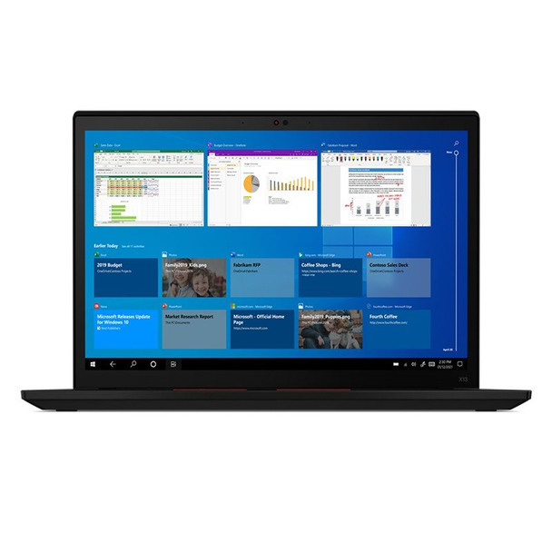 Lenovo ThinkPad X13 Gen 2 13.3in Laptop i7-1165G7 16GB 512GB W10P 4G LTE Touch Main Product Image