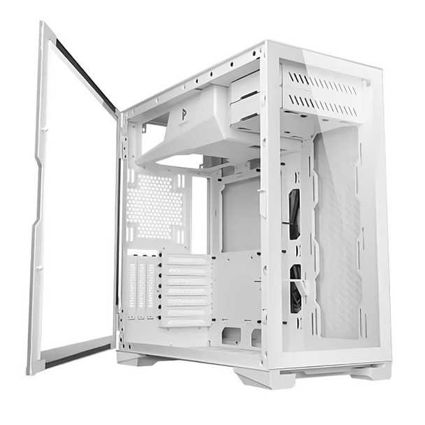 Antec P120 Crystal White Tempered Glass ATX Case Product Image 2