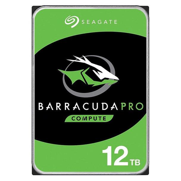 Seagate ST12000DM0007 12TB BarraCuda Pro 3.5in 7200RPM SATA3 Desktop Hard Drive Main Product Image