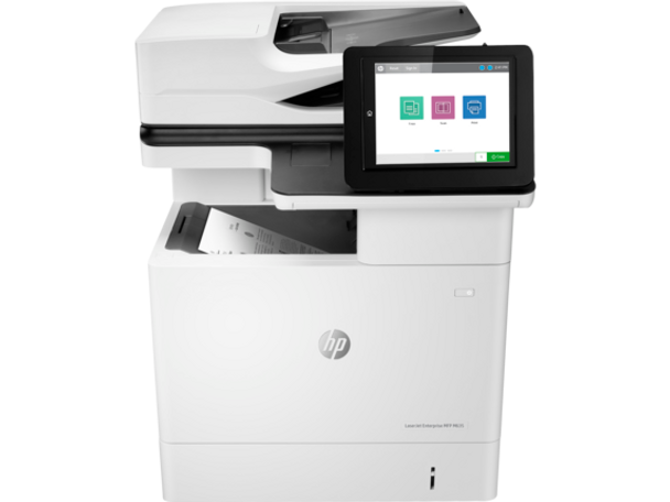 Product image for HP LaserJet Enterprise M635H Mono Mfp A4 - 61Ppm - 1200X1200DPi - Duplex - Network - Fax - 1 YR