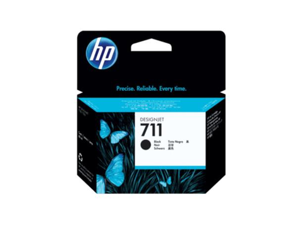Product image for HP 711B 80Ml Matte Black Ink Cartridge - T100 / T120 / T125 / T130 / T520 / T530