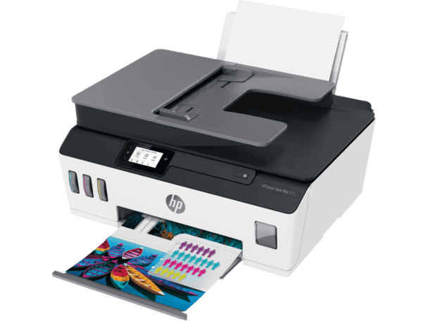 Product image for HP Smart Tank Plus 571 All In One. Print Scan Copy. Wifi - Adf. Upto 12K Mono Or 8K Colour