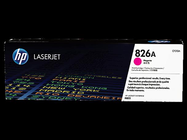 Product image for HP 826A Magenta LaserJet Toner Cartridge