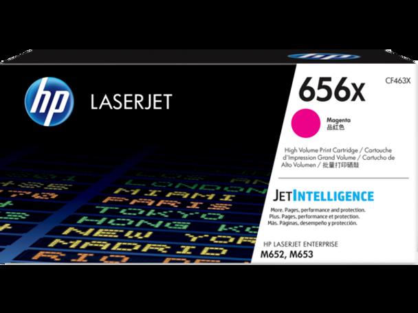 Product image for HP 656X Magenta LaserJet Toner Cartridge