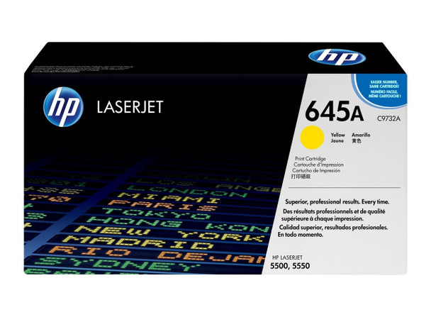 Product image for HP Yellow Toner C9732A