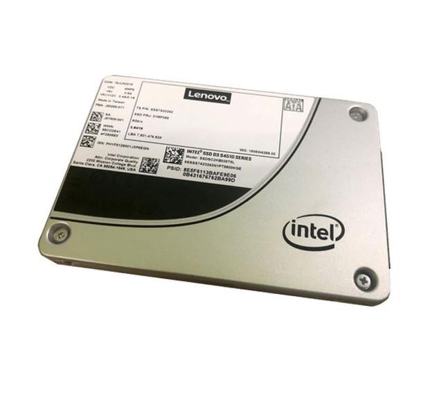 Lenovo ThinkSystem 2.5in Intel S4510 480GB Entry SATA 6Gb HotSwap SSD  Main Product Image