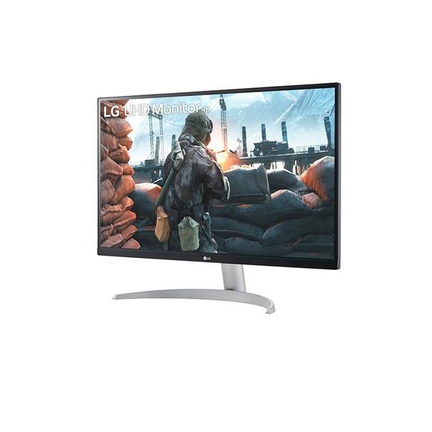LG 27UP600-W 27in UHD 4K IPS VESA DisplayHDR™ 400 Monitor Product Image 2